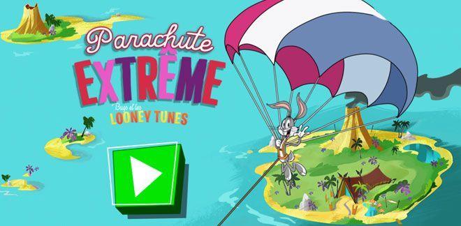Parachute extrême
