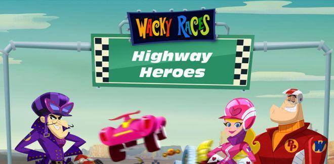 Motorvägens hjältar | Knasiga Lopp-spel | Boomerang