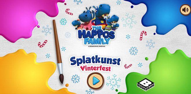 Splatkunst - Vinterfest
