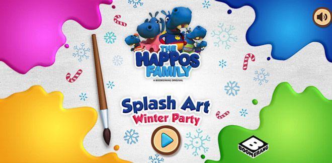 Splash Art - Winter Party