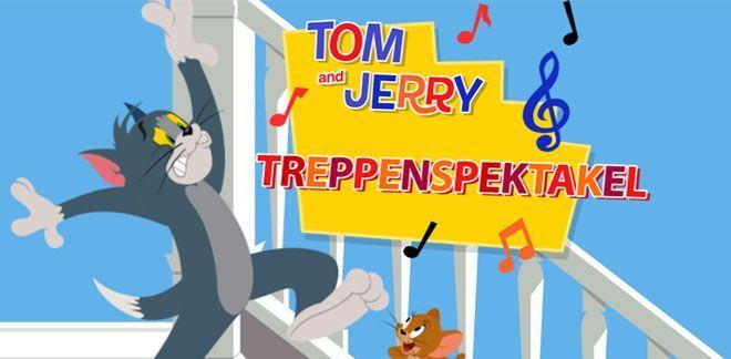Tom und Jerry - Treppenspektakel