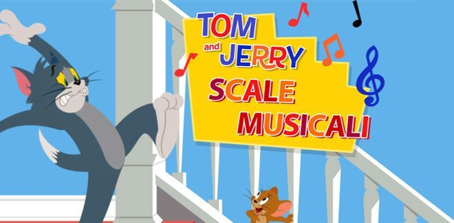 Tom e Jerry - Scale musicali