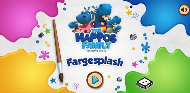 Happos-familien - Fargesplash