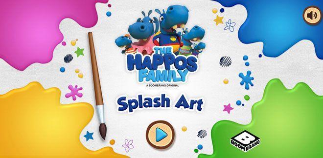 Familjen Happos  - Splash Art