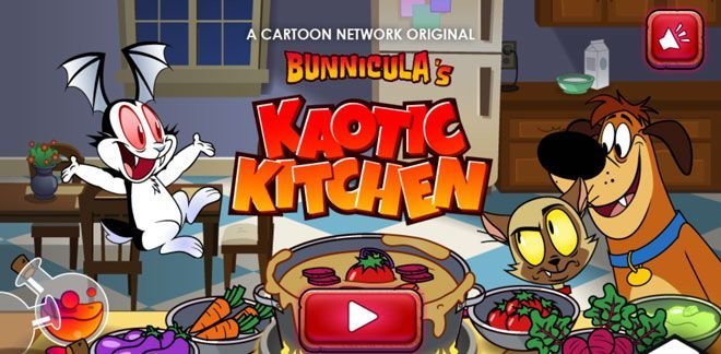 Kaotkic Kitchen - Bunnicula Games