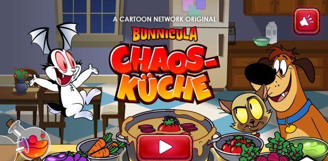 Chaos-Küche - Bunnicula-Spiele