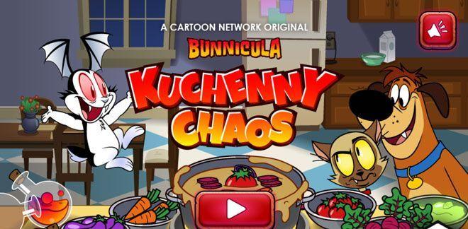 Kuchenny chaos - Gry z serii Królikula