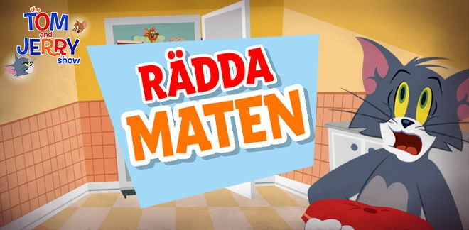 Rädda maten | The Tom & Jerry | Boomerang
