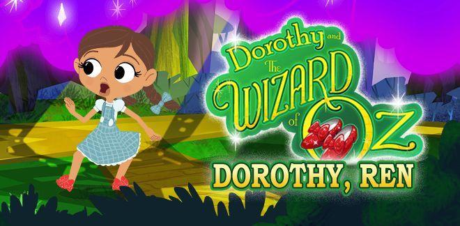 Ren Dorothy - Spelletjes van Dorothy en de tovenaar van Oz