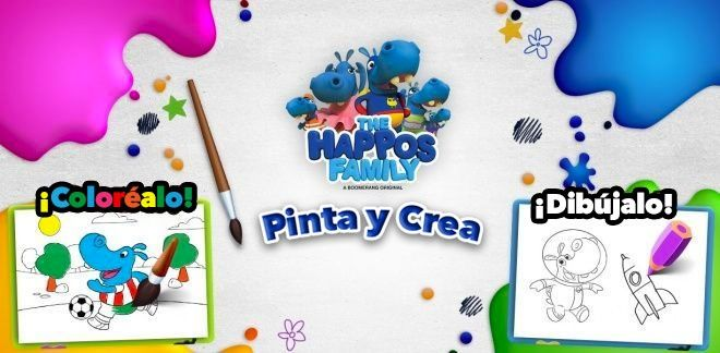 Pinta y Crea - The Happos Family