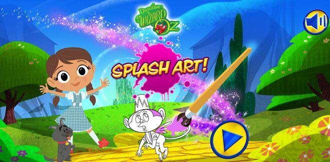 Dorothy Óz földjén - Splash Art