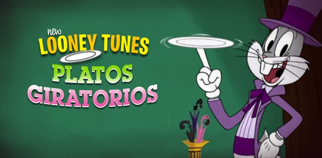 Platos Giratorios - New Looney Tunes