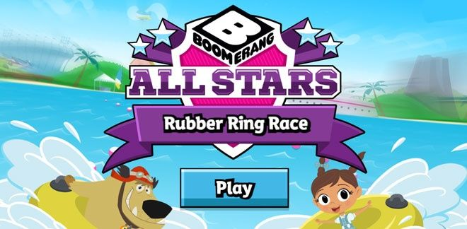 New Looney Tunes - Rubber Ring Race