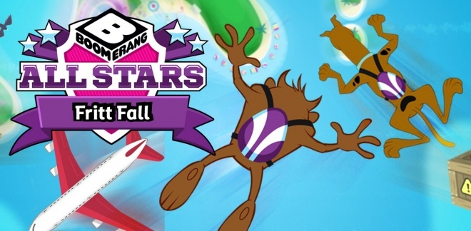 Be Cool Scooby Doo - Fritt fall