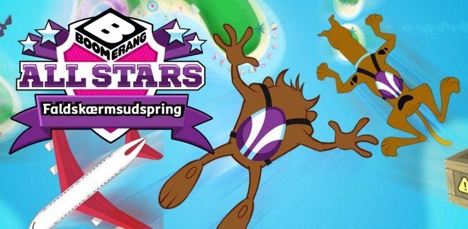 Du er cool Scooby-Doo! - Faldskærmsudspring