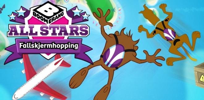 Du er kul, Scooby-Doo! - Fallskjermhopping