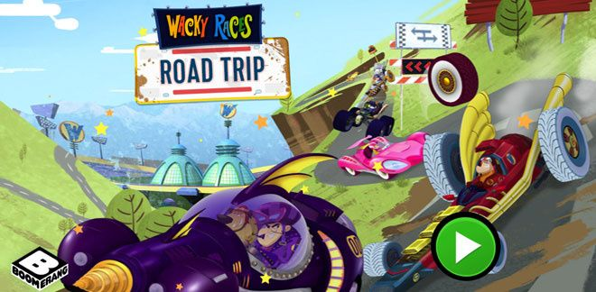 Wacky Races Road Trip