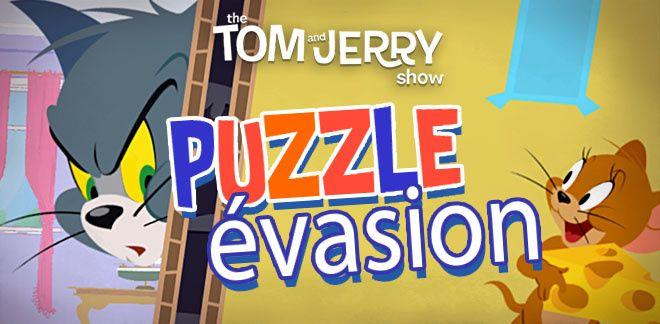 Puzzle évasion - Le Tom et Jerry Show