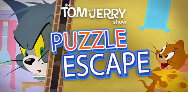 Puzzle Escape - Tom şi Jerry