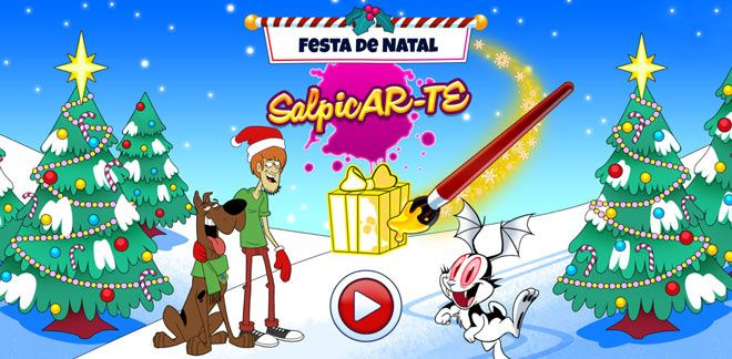 Be Cool Scooby Doo - Festa de Natal