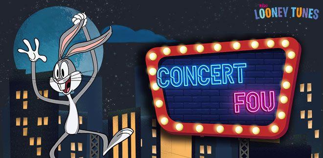 Concert fou - Bugs et les Looney Tunes