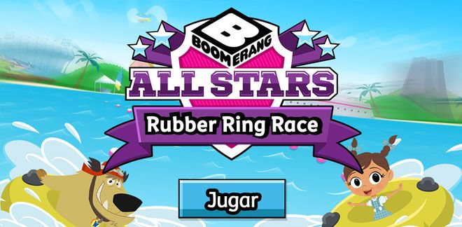 Juega Rubber Ring Race