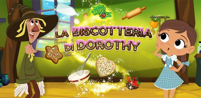 Dorothy e le meraviglie di Oz - La biscotteria di Dorothy