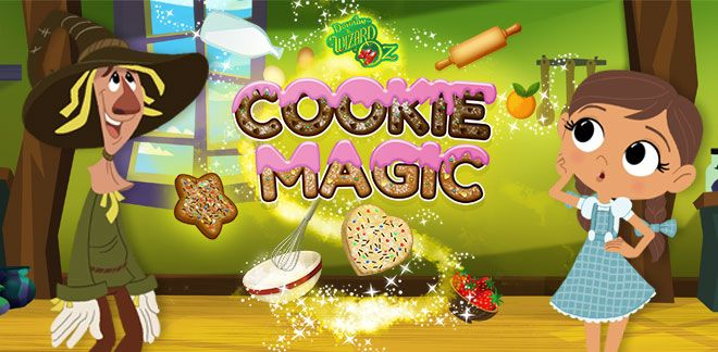 Dorothy and the Wizard of Oz - Cookie Magic