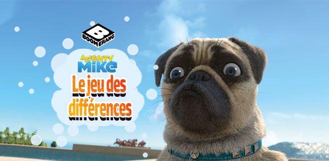 Mike une vie de chien - Le Jeu Des Différences