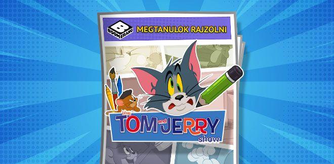 Tom és Jerry - Megtanulok rajzolni