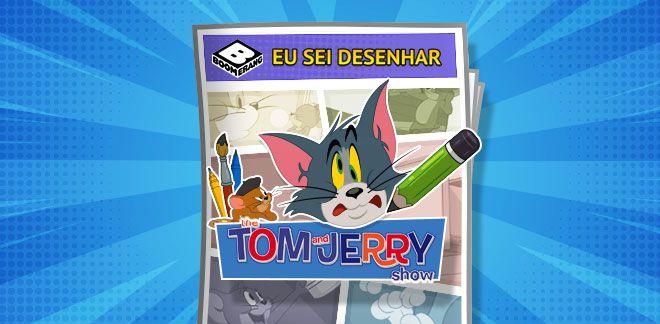 Tom e Jerry - Eu sei desenhar