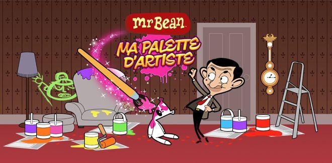 Mr Bean - Ma palette d'artiste