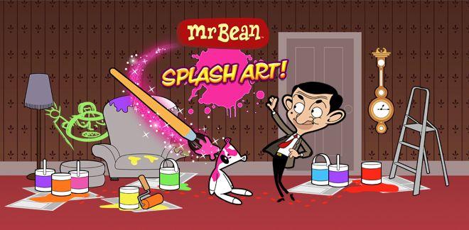 Mr. Bean - Splash Art