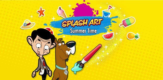 Splash Art! - Summer Party