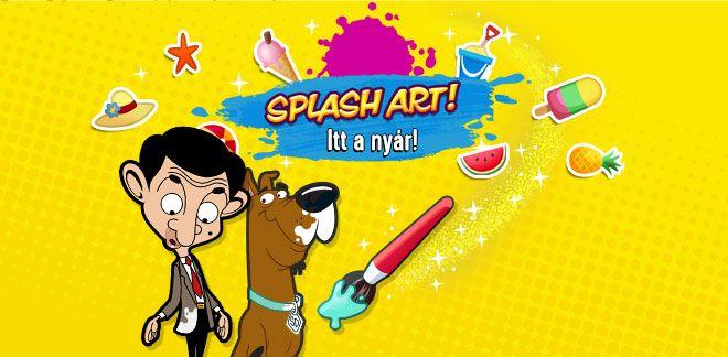 Splash Art! - Itt a nyár!