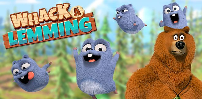 Grizzy & the Lemmings - Whack-a-Lemming