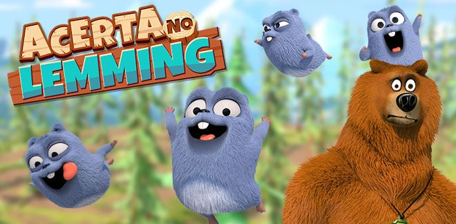 Grizzy e os Lemmings - Acerta no Lemming