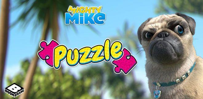 Puzzle Mike une vie de chien