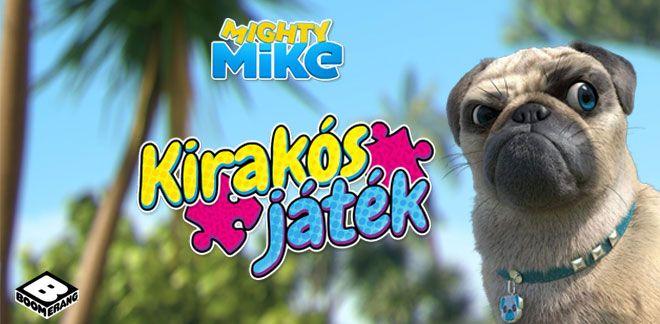 Kirakós játék-Menő Mike