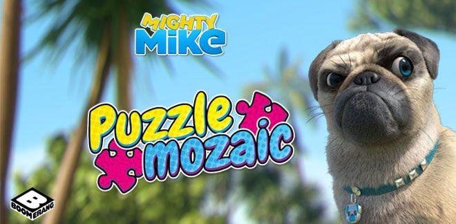 Puzzle mozaic-Mărețul Mike