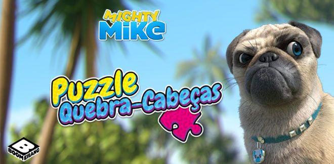Puzzle Quebra-Cabeças-Vai, Mike!