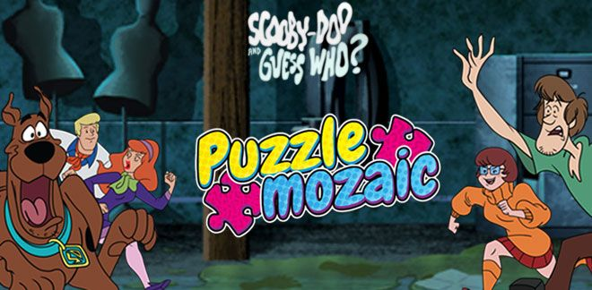 Scooby Doo și cine crezi tu? - Puzzle mozaic