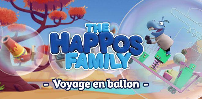 Voyage en ballon-La famille Happo