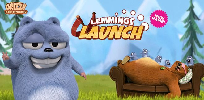 Grizzy and the Lemmings - Lemmings Launch