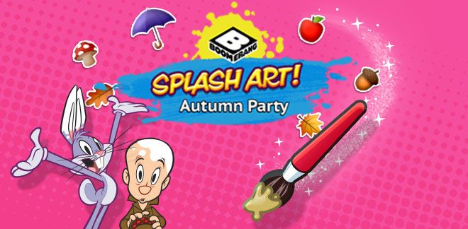 Autumn Time-Splash Art