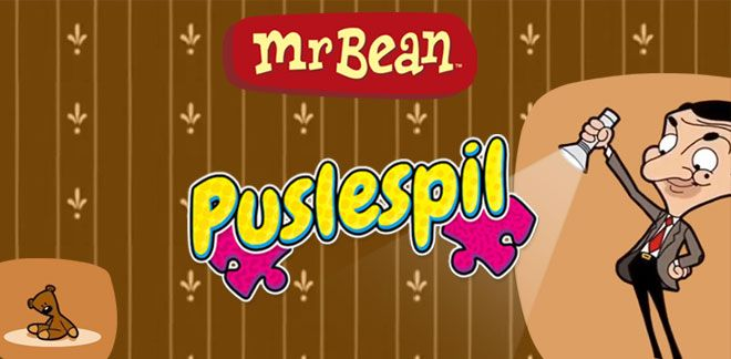 Mr Bean-puslespil-Mr Bean