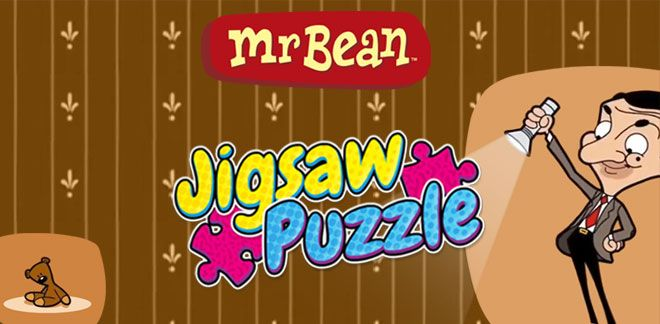 Mr Bean-puslespill-Mr Bean