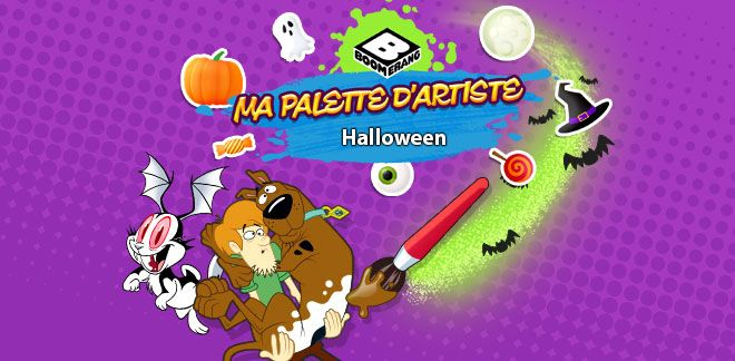 Halloween-Ma palette d'artiste