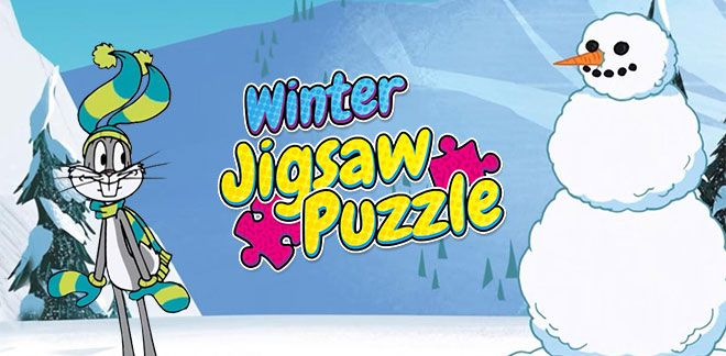 Winter jigsaw puzzle-New Looney Tunes