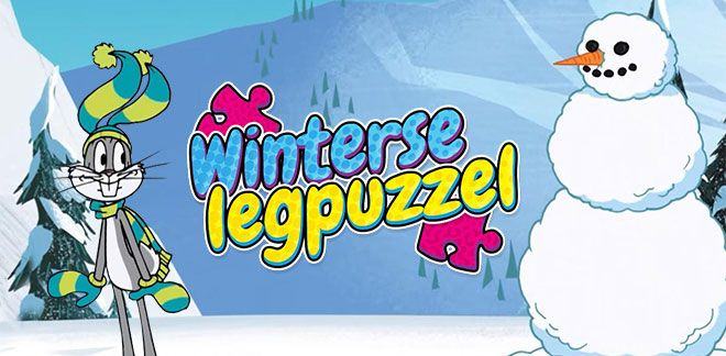 Winterse legpuzzel-New Looney Tunes